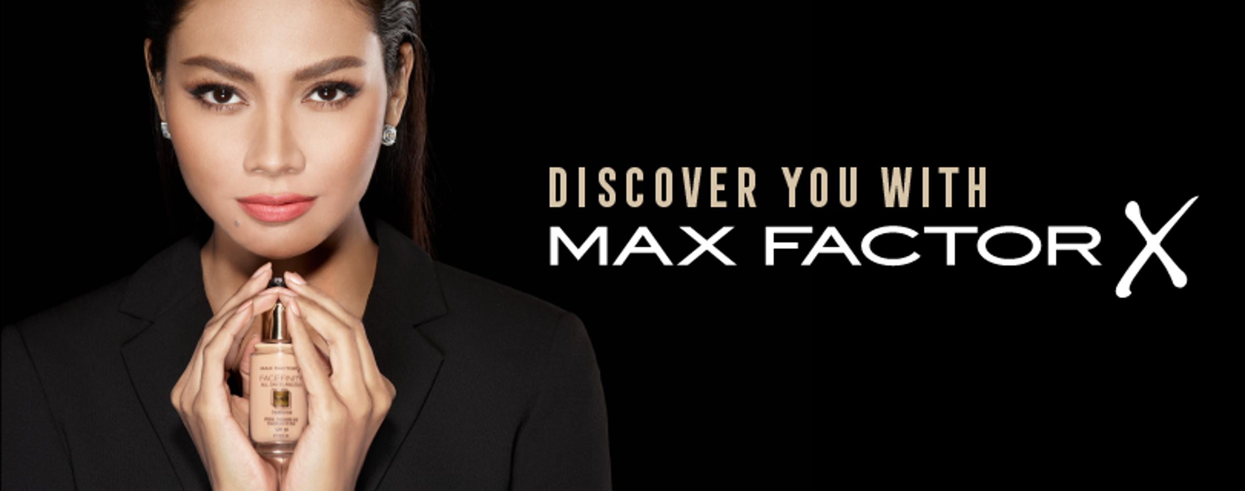 แคมเปญออนไลน์ Max Factor X